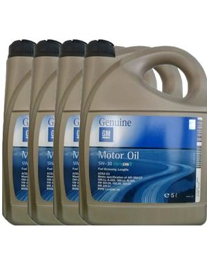 GM MOTOR OIL DEXOS 2 5W30 4x5LT