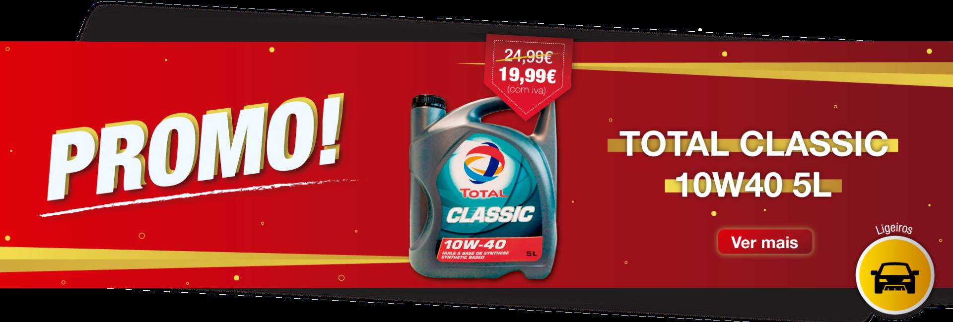 Campanha Total Classic 10W40 5L